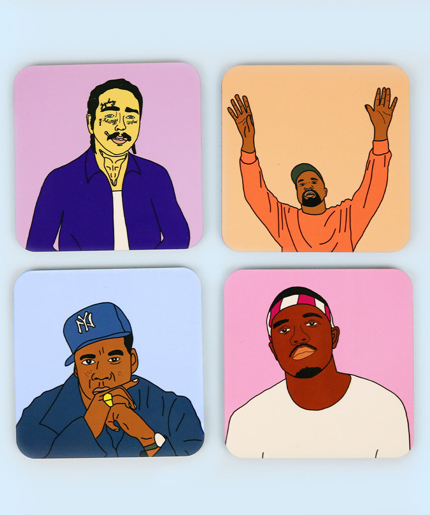 Rappers Delight Coaster Set