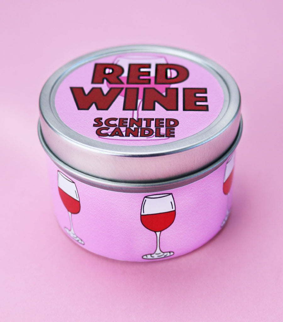 Red Wine Scented Candle