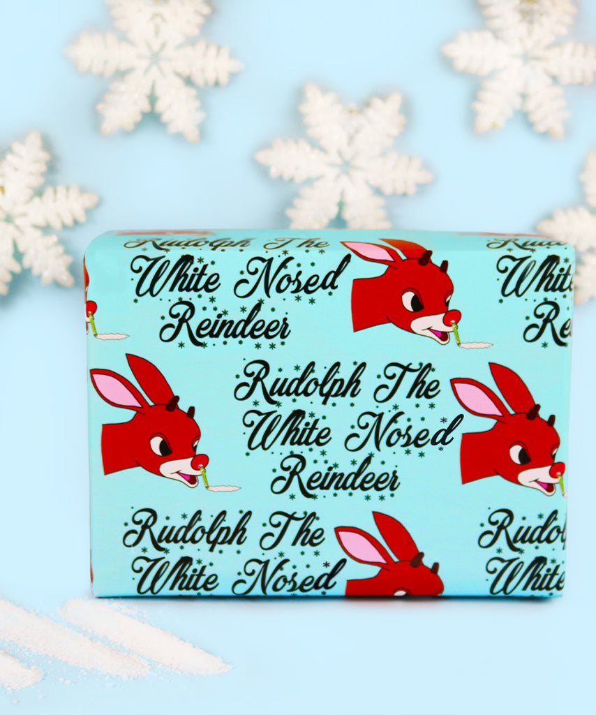 Rudolph The White Nosed Reindeer (Wrapping Paper)