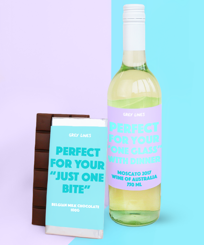 Mum's Perfect Serving Suggestions Gift Pack (Wine & Chocolate)