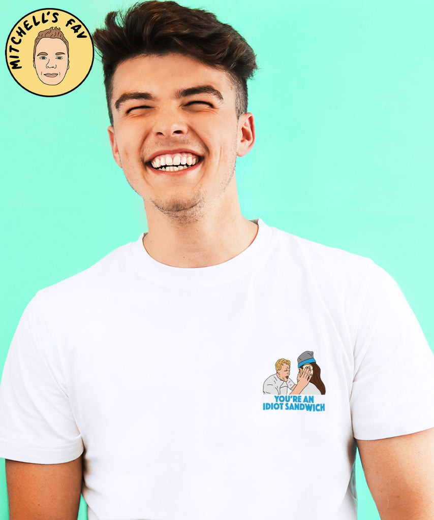Idiot Sandwich (Mens Tee)