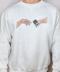The Creation Of VB (Grey Marl Sweatshirt)
