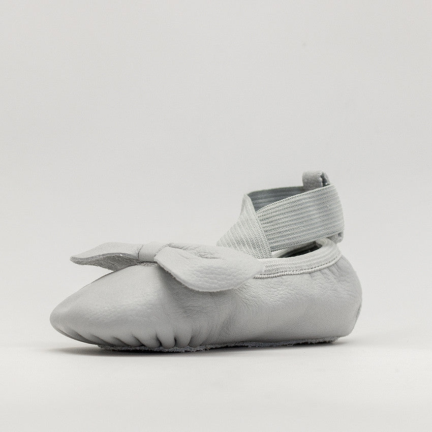 Light Grey Ballet Moccs