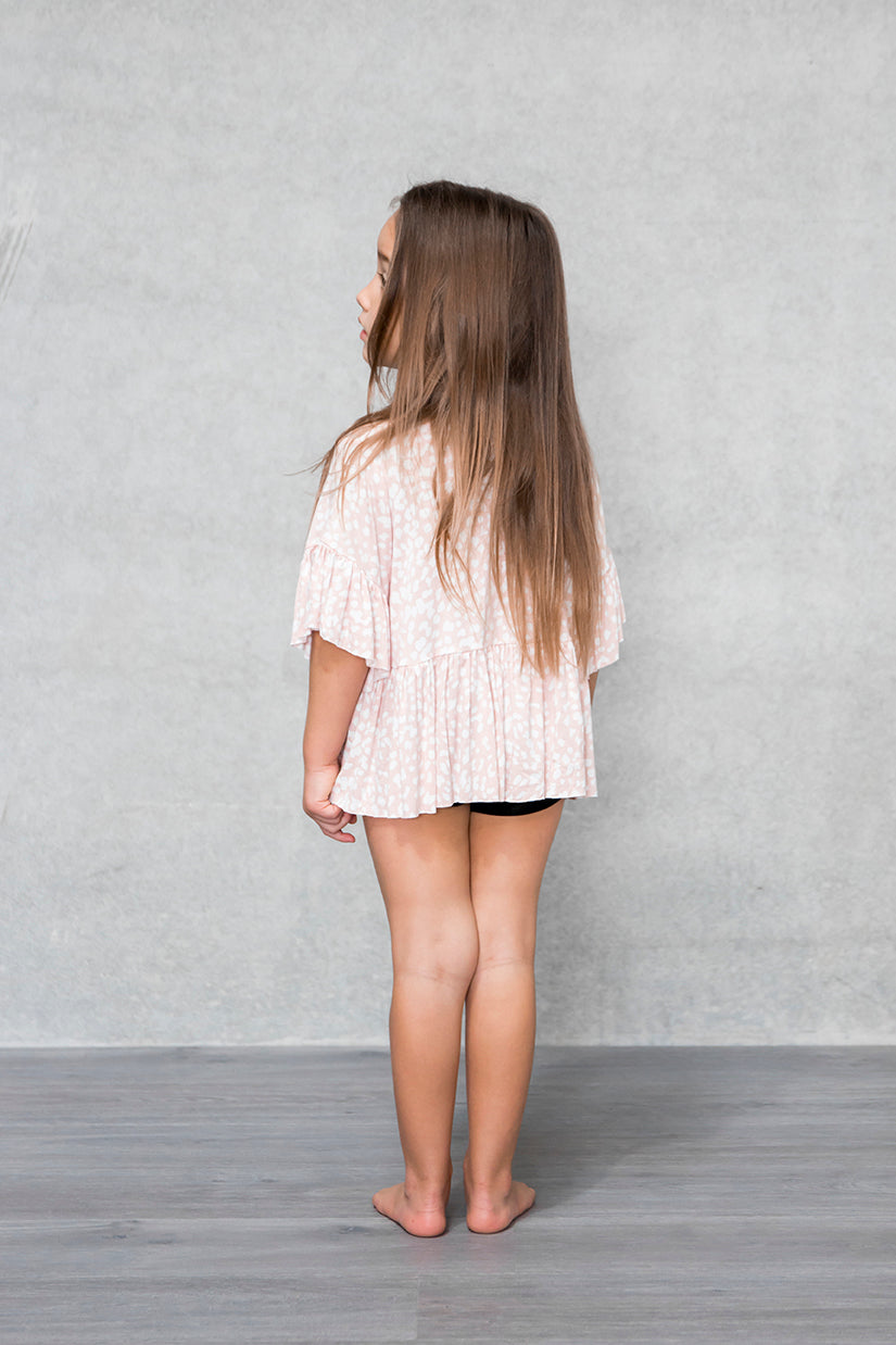 Frill Box Crop Kids - Bambi