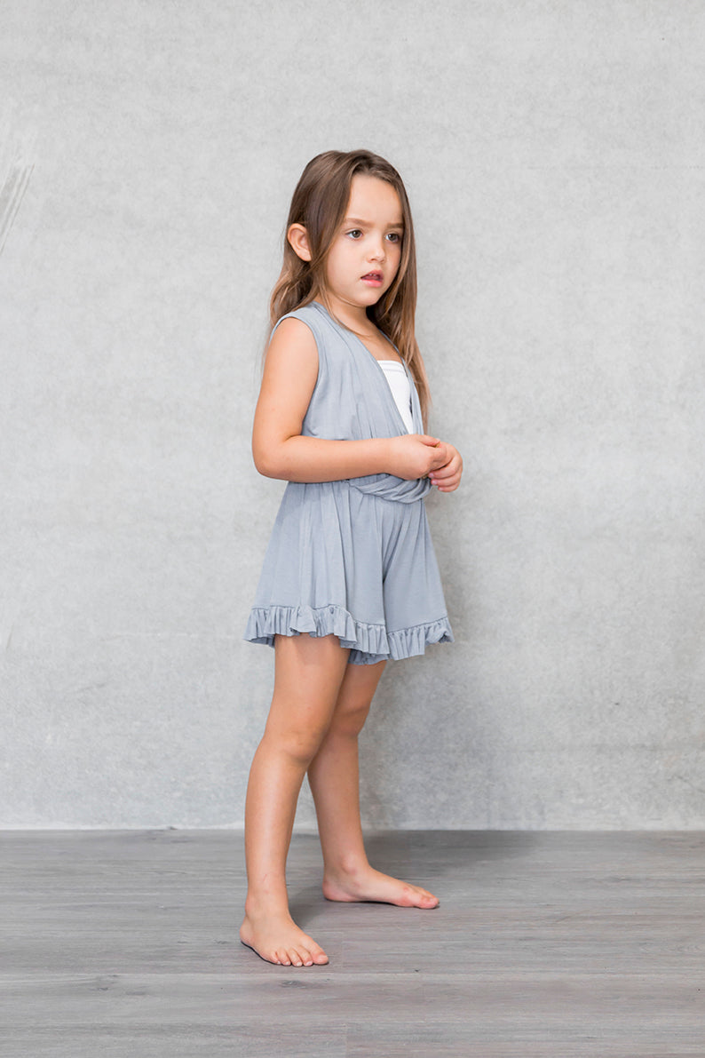 Frill Playsuit Kids - Mist