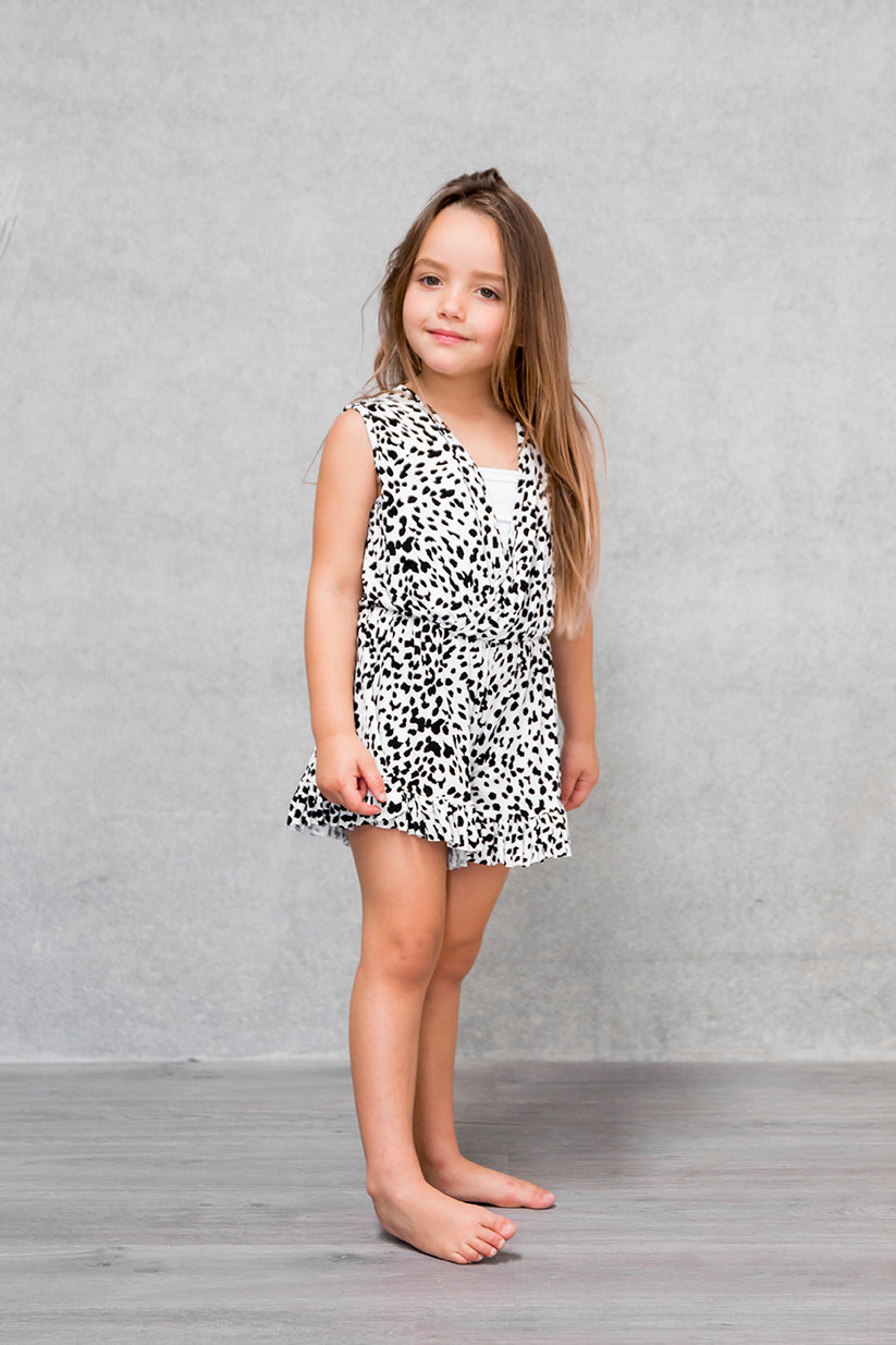 Frill Playsuit Kids - Lynx