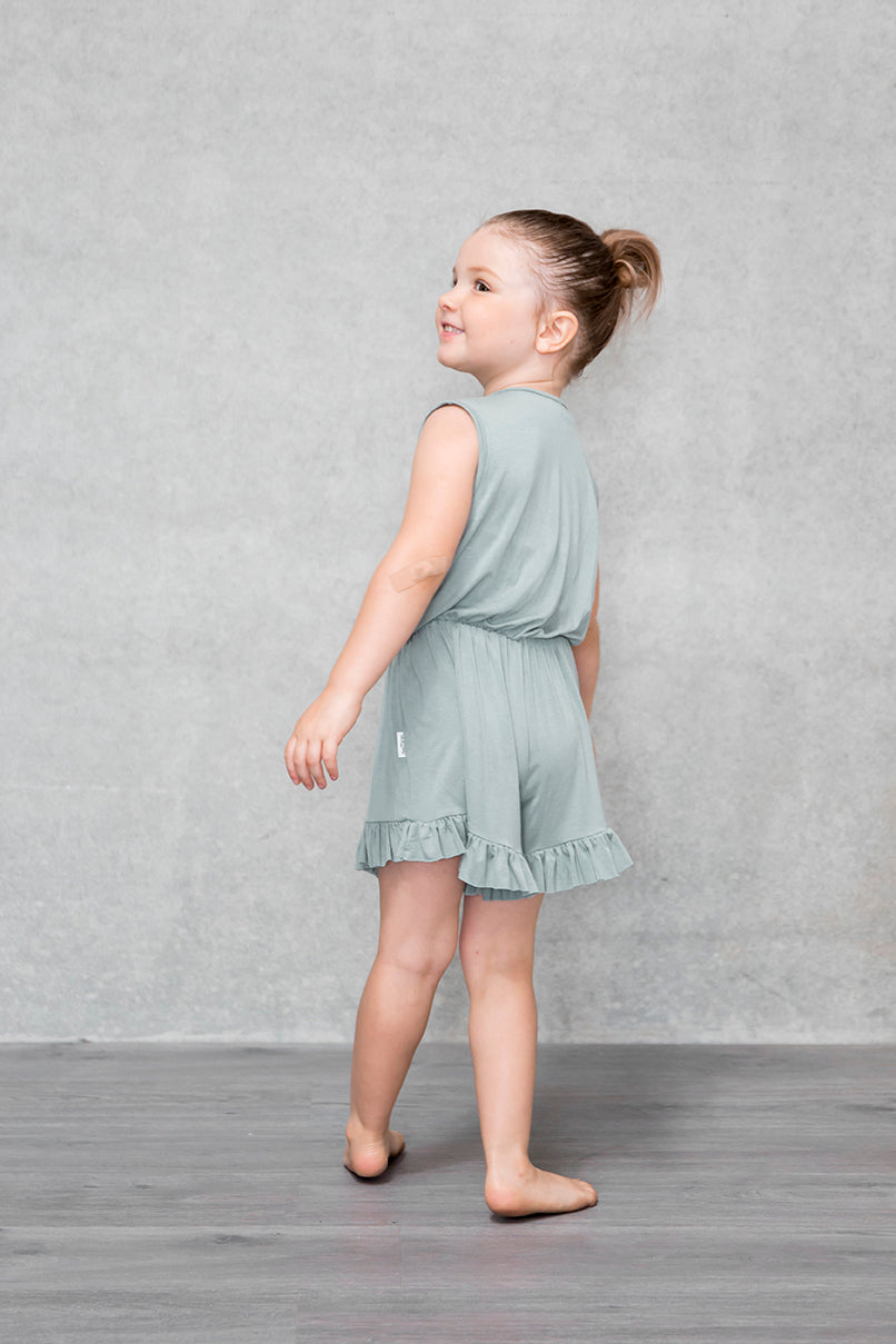 Frill Playsuit Kids - Willow