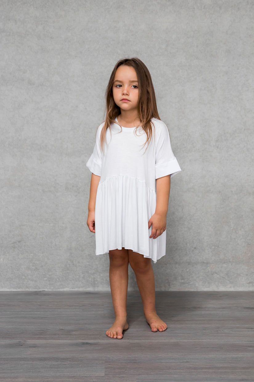 Box Dress Kids - Cloud