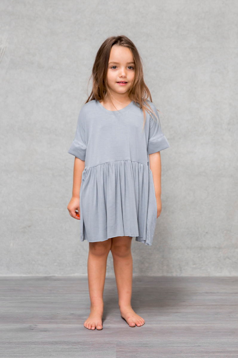 Box Dress Kids - Mist