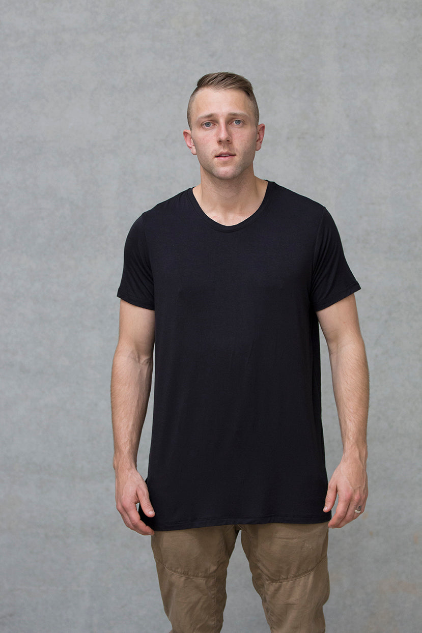 Spine Tee Adults - Black