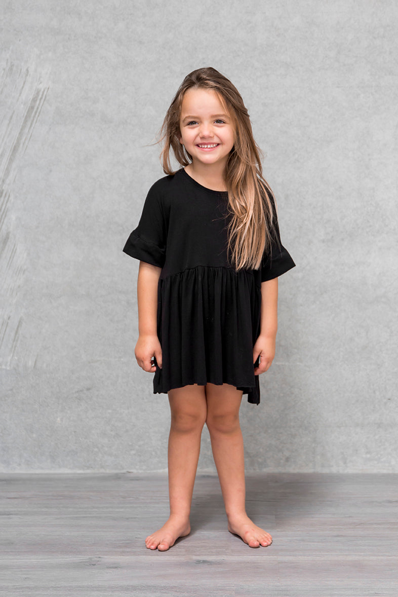 Box Dress Kids - Raven