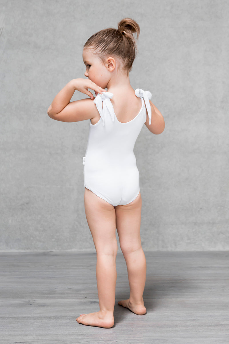 Bow Bodysuit Kids - Cloud