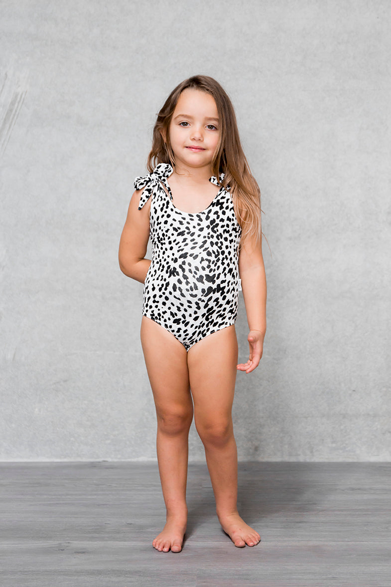 Bow Bodysuit Kids - Lynx