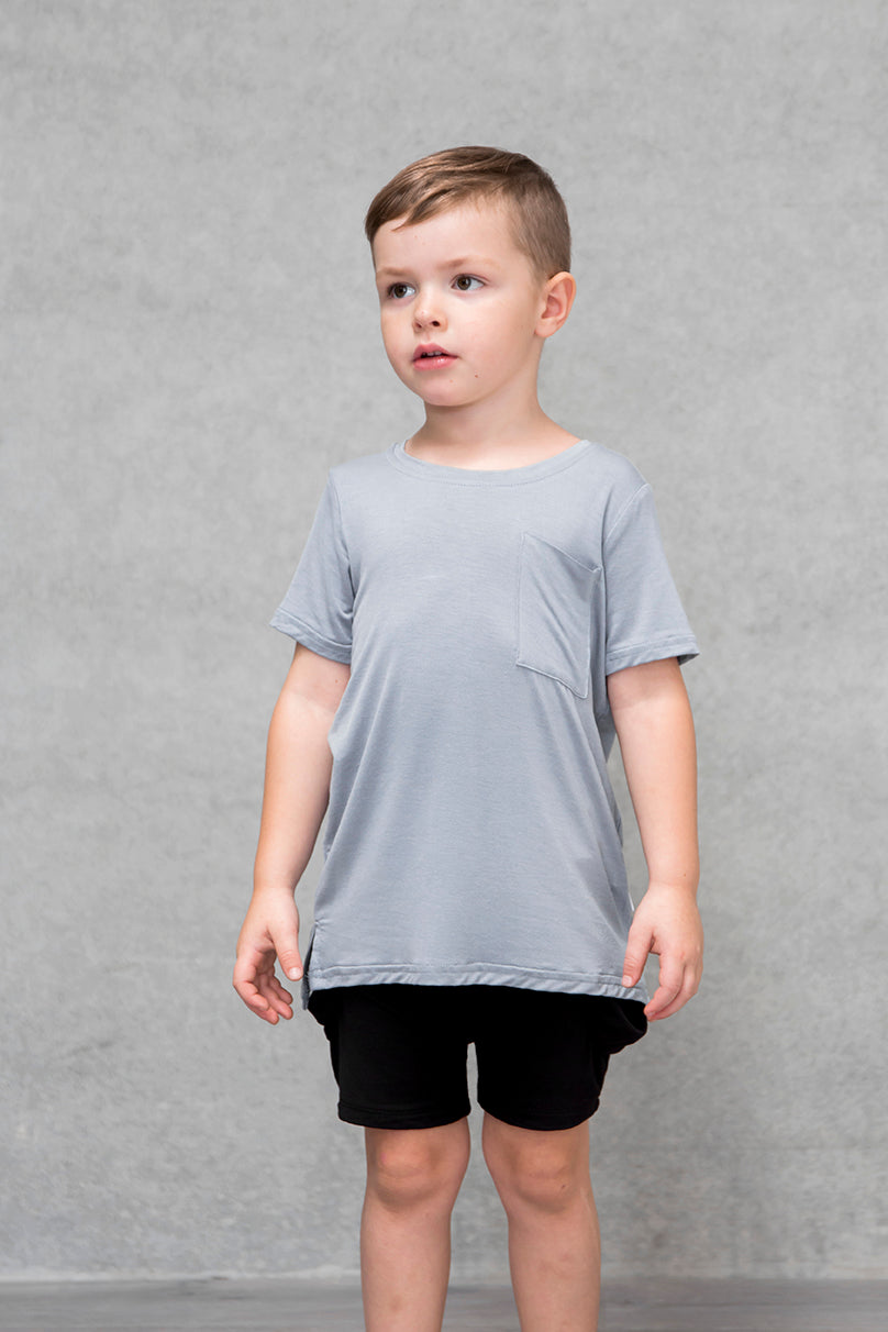 Unisex Pocket Tee Kids - Mist