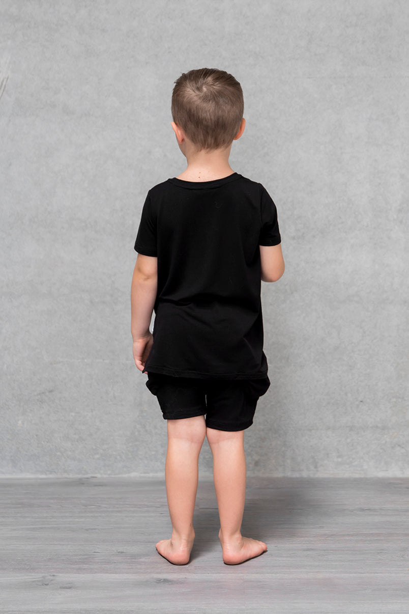 Unisex Pocket Tee Kids - Raven