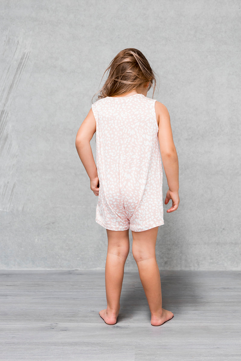 Basic Short Romper Kids - Bambi