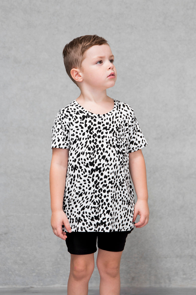 Unisex Pocket Tee Kids - Lynx