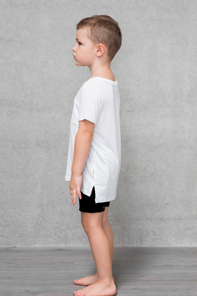 Unisex Pocket Tee Kids - Cloud