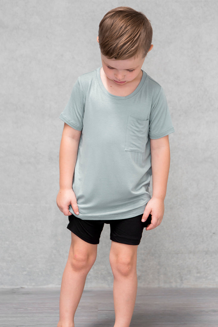 Unisex Pocket Tee Kids - Willow