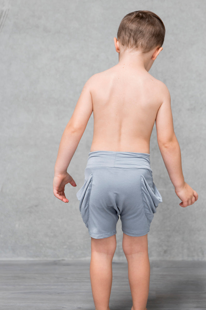 Drape Pocket Shorts Kids - Mist PREORDER