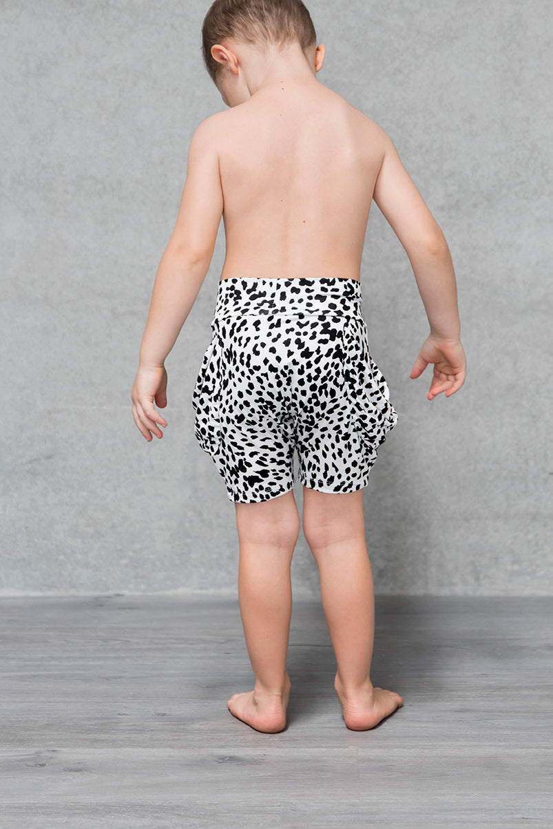 Drape Pocket Shorts Kids - Lynx