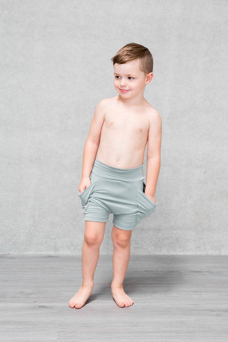 Drape Pocket Shorts Kids - Willow