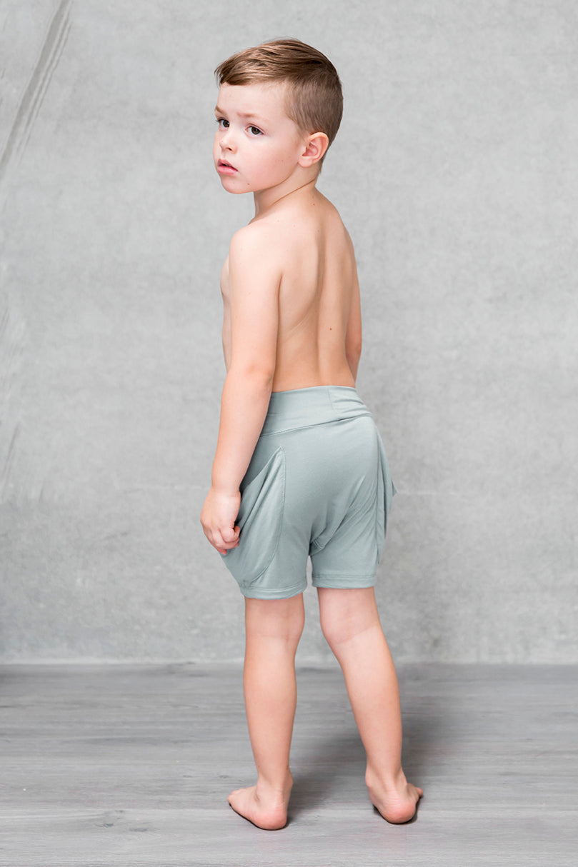 Drape Pocket Shorts Kids - Willow PREORDER