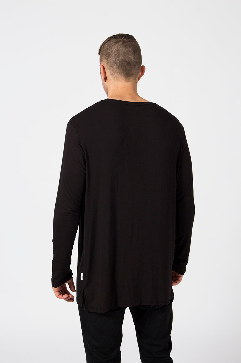 LS Pocket Tee - Midnight