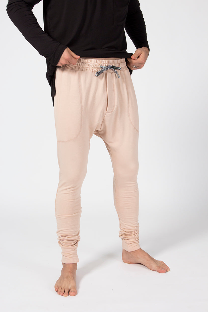 Jogger Pants - Sandstone French Terry
