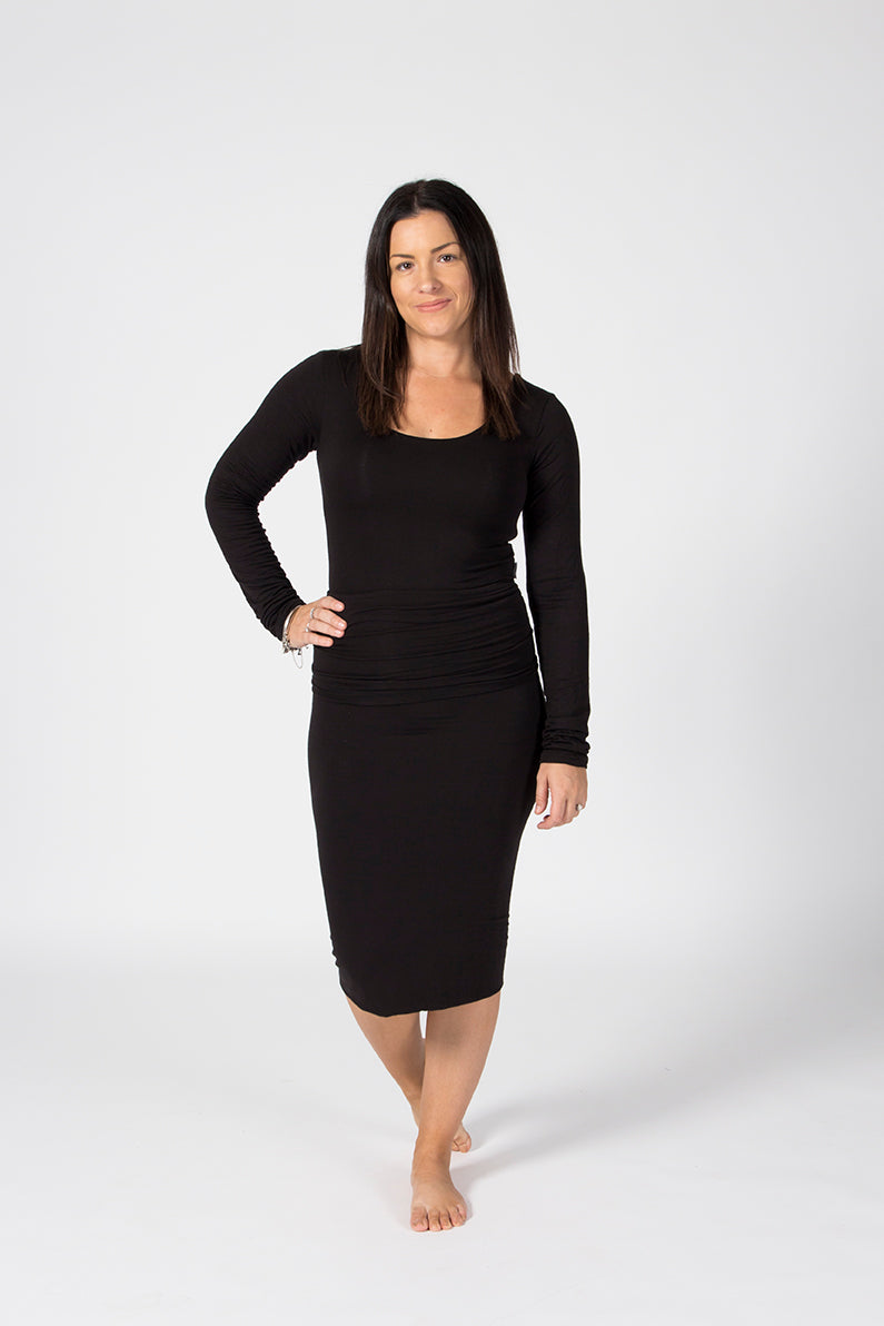 Pencil Skirt - Midnight