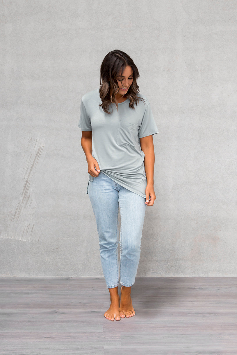 Unisex Pocket Tee - Willow