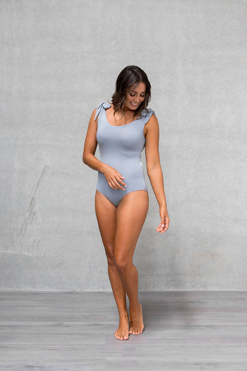 Bow Bodysuit - Mist