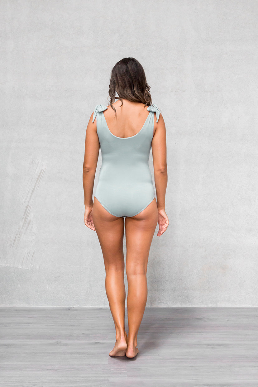 Bow Bodysuit - Willow