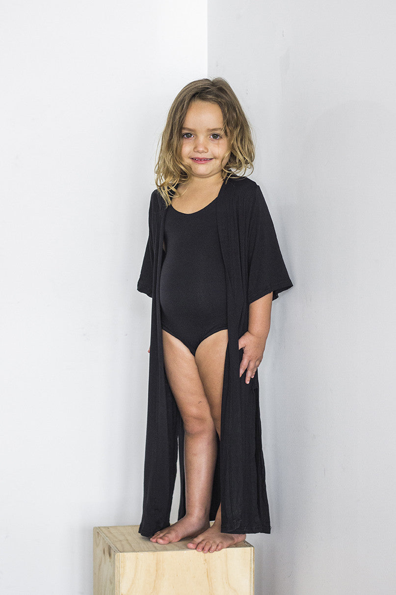 Summer Cardi Black - Kids