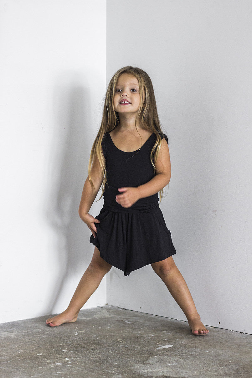Shorts/romper Black - Kids