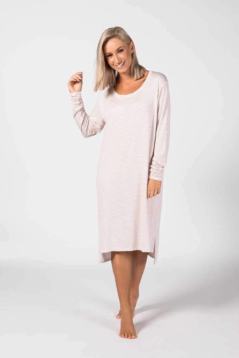 LS Tee Dress - Mandras
