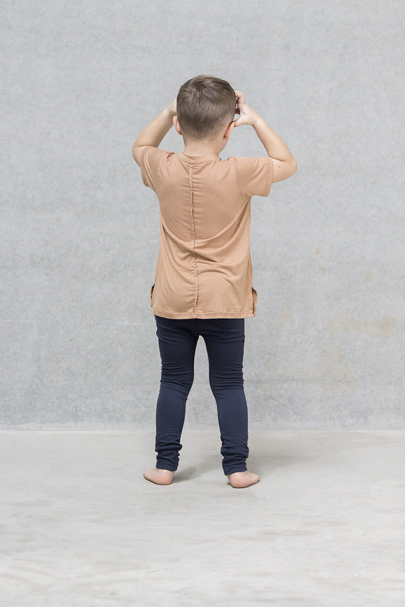 Spine Tee Kids - Caramel