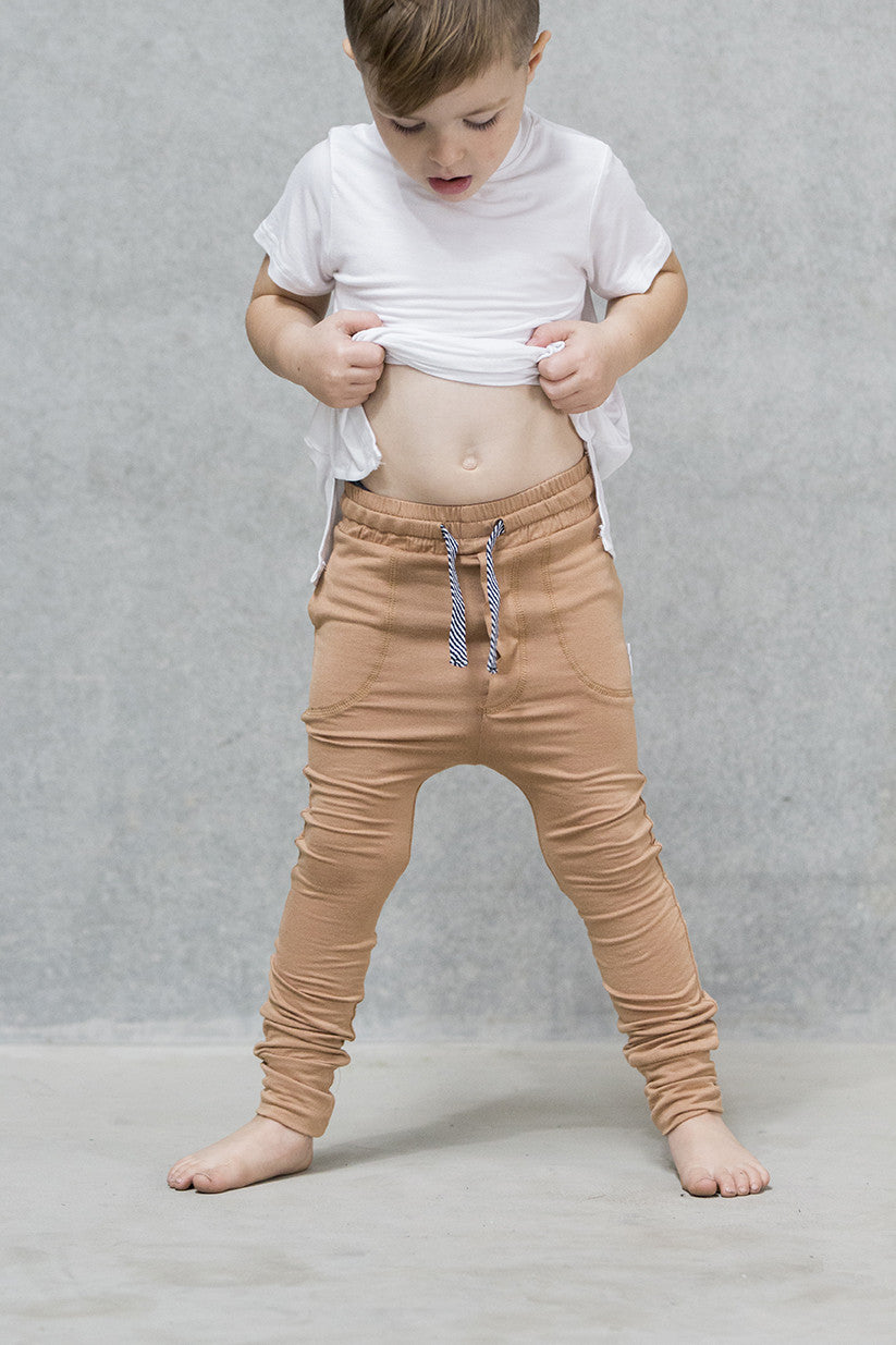 Jogger Pants Kids - Caramel