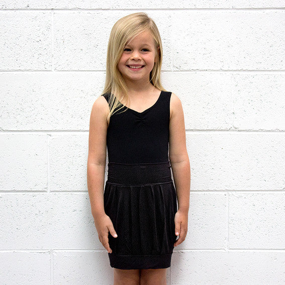 KIDS Black Bubble Skirt