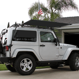 Sir-Shade™ Telescoping Awning System JK 2-Door for Gobi Rack