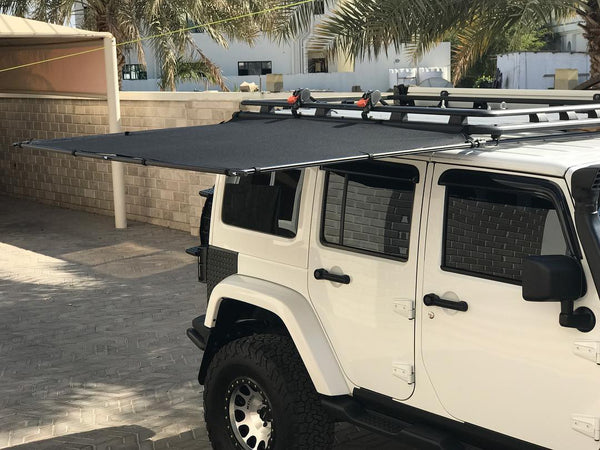 Sir-Shade™ Telescoping Awning System JK 4-Door for AEV ...