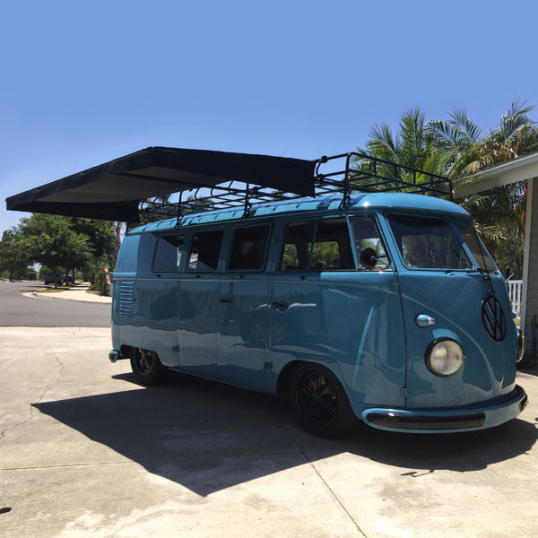 Sir-Shade™ Telescoping Awning System VW Bus for full rack ...