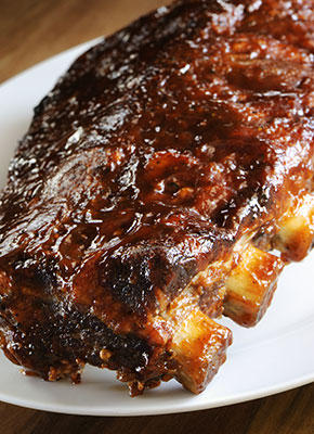 Bondi Chai Pork Ribs with Mango Chutney