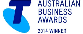 Telstra Business Awards 2014 logo