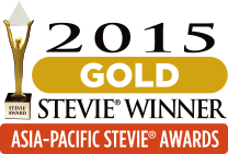 2015 Gold Stevie Winner