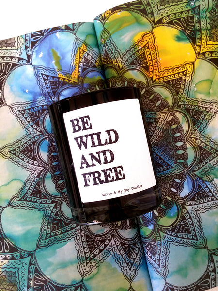 Lychee and Black Tea Candle - Be Wild and Free