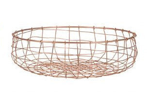 Copper Wire Fruit Baskets