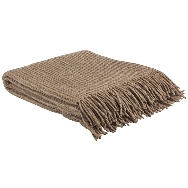 Wembly Throw Rug Mocha