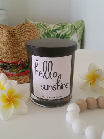 Hello Sunshine Candle