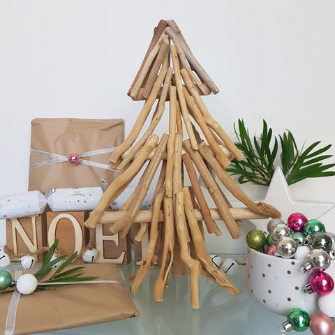 Driftwood Christmas Tree Large